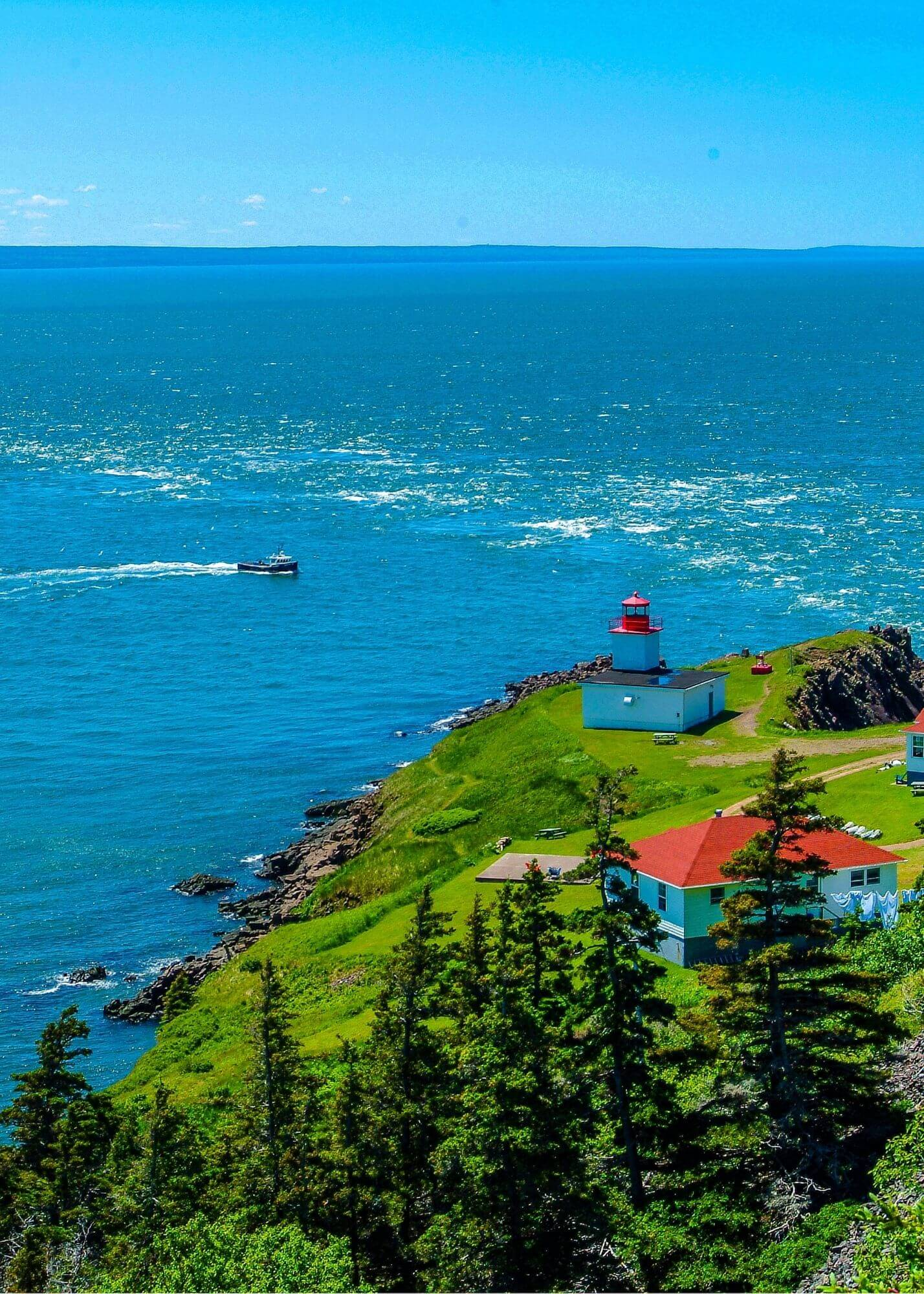 Cape Dor Lighthouse, Nova Scotia