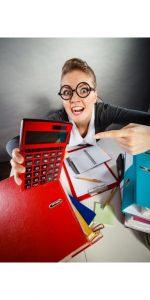 big red calculator