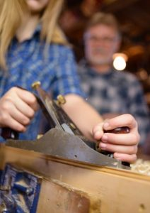 Learning Woodwork Skills
